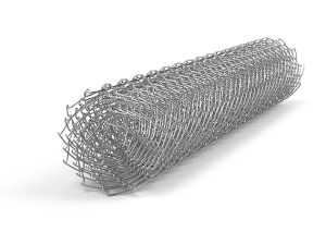 Сетка рабица оцинкованная 1х10 м ячейка 55х55 мм