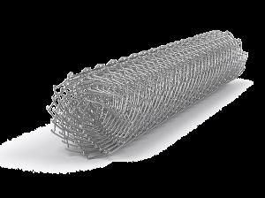 Сетка рабица оцинкованная 1.5х10 м ячейка 55х55 мм