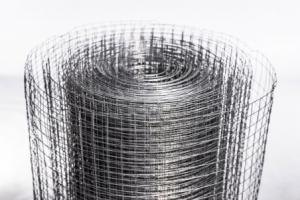 Сетка сварная оцинкованная, ячейка 10х10 мм, д.0.8 мм,1х15 м.