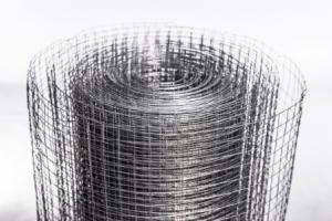 Сетка сварная оцинкованная, ячейка 12,7x12,7мм, d=0.6мм,1x15v.