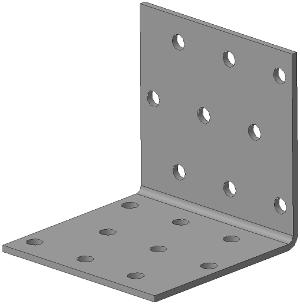 Кронштейн крепёжный равносторонний 60х60х60