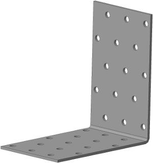 Крепёжный уголок равносторонний 100х100х60