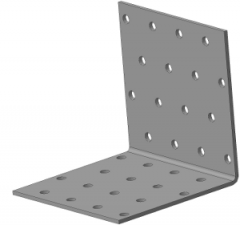 Крепёжный уголок равносторонний 80х80х80