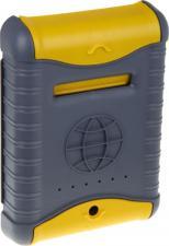 Ящик почтовый Цикл Стандарт, с замком, цвет серый, желтый, 7 х 26 х 38 см