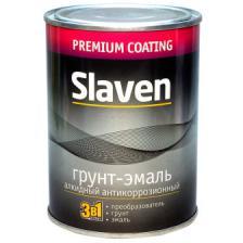 Грунт-эмаль Slaven быстросохнущая антикоррозионная ( чёрный ) (1.1кг)