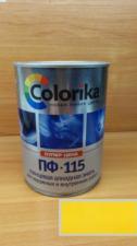 Эмаль ПФ-115 Colorika 0.8 (желтая)