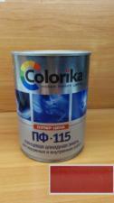 Эмаль ПФ-115 Colorika 0.8 (рубиновая)