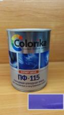 Эмаль ПФ-115 Colorika 0.8 (фиолетовая)