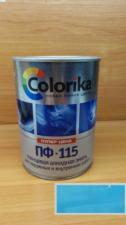 Эмаль ПФ-115 Colorika 0.8 (морская волна)