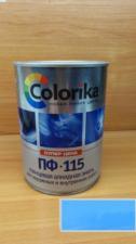 Эмаль ПФ-115 Colorika 0.8 (голубая)