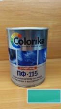 Эмаль ПФ-115 Colorika 0.8 (изумрудная)