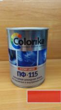 Эмаль ПФ-115 Colorika 0.8 (Красная)