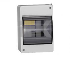 Бокс КМПн 24 с прозрачной крышкой для четырех автоматических выключателей, IP30 ИЭК