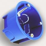 Коробка установочная скрытой установки d64мм глубина 44мм 4 ввода IP20 в гипсокартон Промрукав