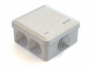Коробка распределительная открытой установки 100х100х50мм IP55 Greenel