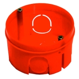 Коробка установочная скрытой установки d68мм глубина 40мм для сплошных стен Хегель