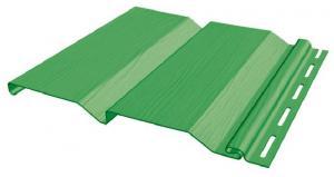 Виниловый сайдинг FineBer профиль Standart (зелёный)