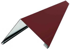 Конек Красный 150х150х2000 мм (RAL 3005)