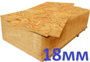Плита OSB (ОСП)-3 18х1250х2500 мм